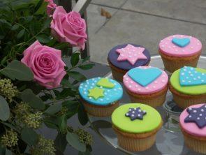 Roosjes en cupcakes